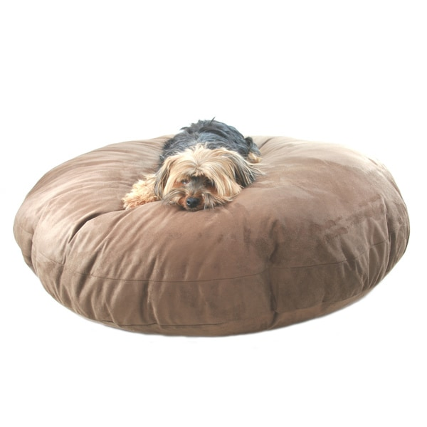 Hidden Valley Extra Large Chocolate Round Dog Bed