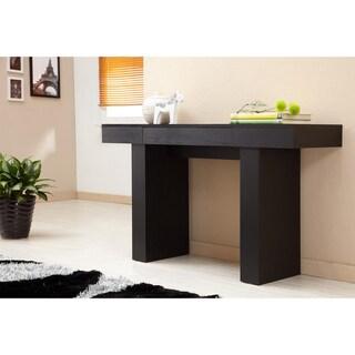 furniture of america perry modern black finish sofa table Cream Sofa Table overstock glass sofa table