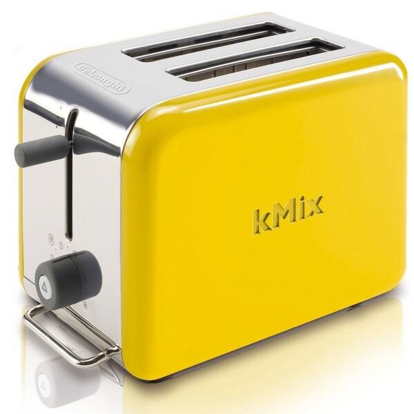 Delonghi Kmix Yellow 2 Slice Toaster 13878336