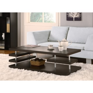 Furniture Of America Arched Leveled Coffee Table