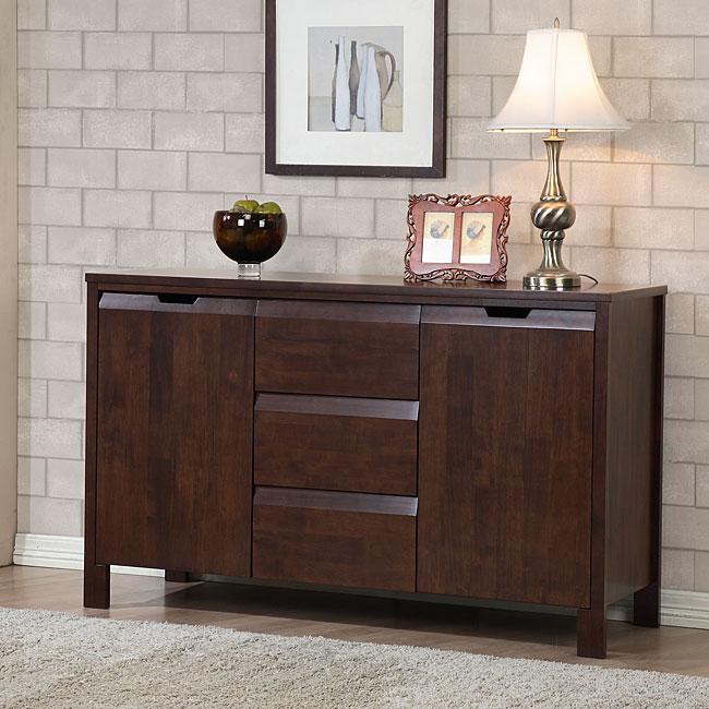 Alsa 2 Door 3 Drawer Buffet 80004336 Overstock Com