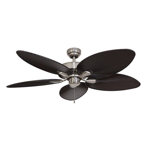 Ecosure Abaco Brushed Nickel 52 Inch Ceiling Fan