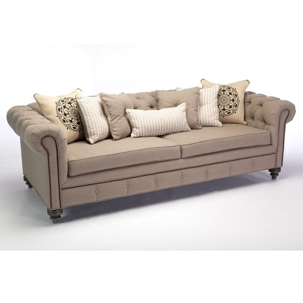 Dusk Button Tufted Sofa 92: Deals On 1001 Blocks
