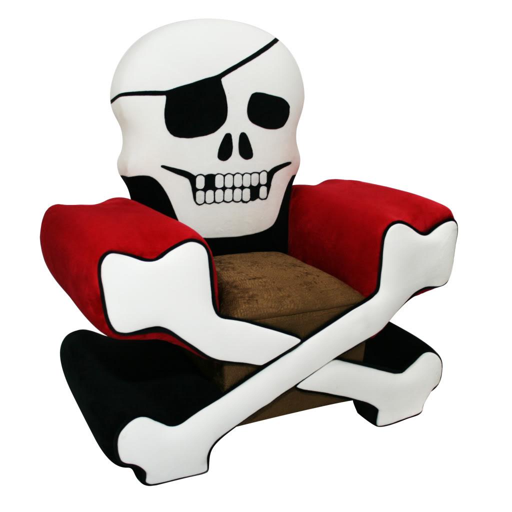 Magical Harmony Kids Skull Chair Boy 13923172