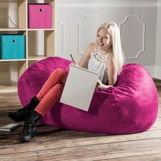Beansack Polka Dot Pink Bean Bag Chair 13115795