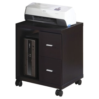 Home Office Wood Printer Cabinet 14056768 Overstock