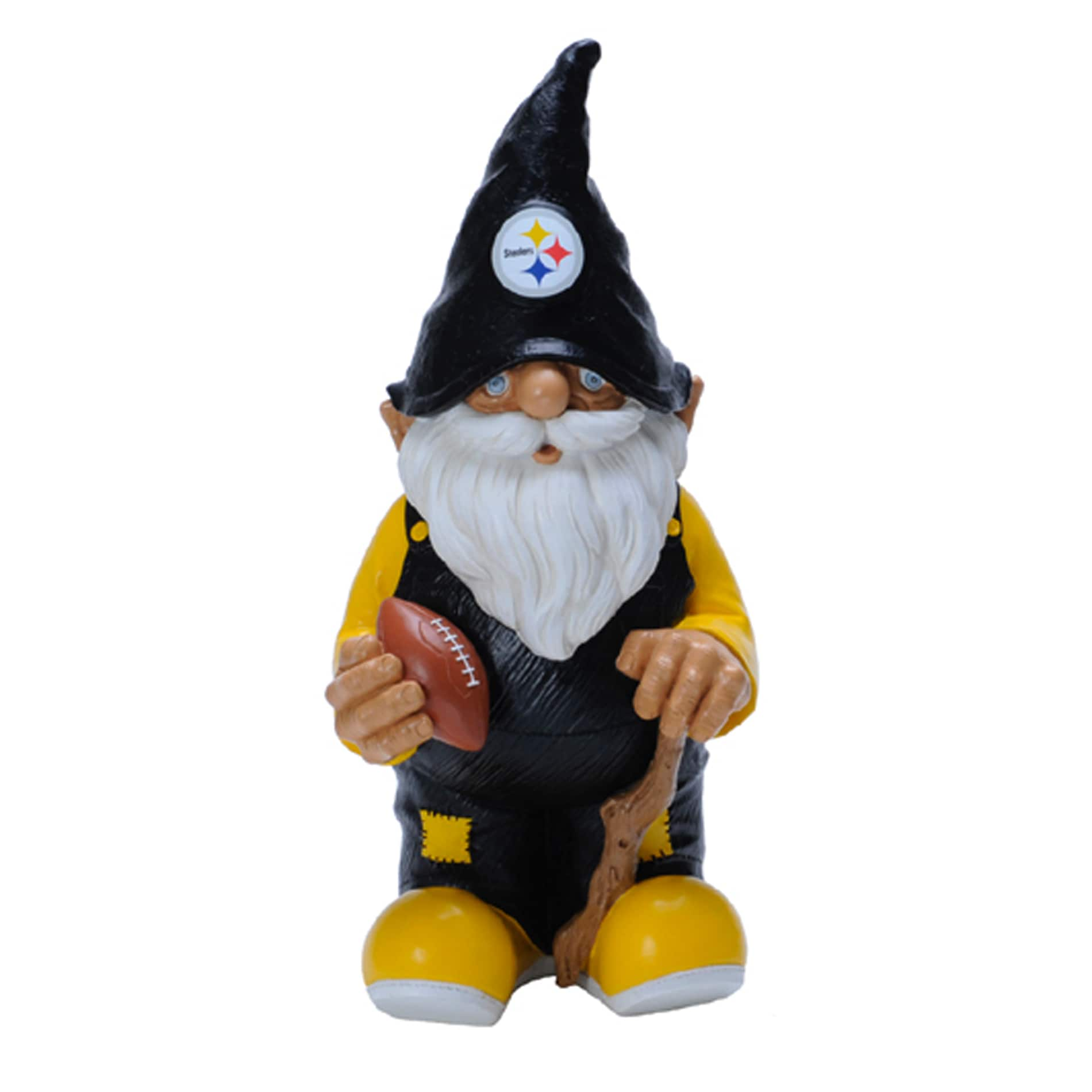 Real Gnomes: Forever Collectibles Pittsburgh Steelers 11-inch Garden