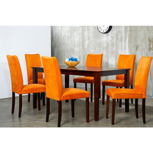 Discount Dining Room Sets Free Shipping: Warehouse Of Tiffany Shino 7-piece Dining Furniture Set