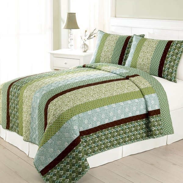 Margrit King Size Quilt 13947968 Overstock Com Shopping Great Deals On Quilts