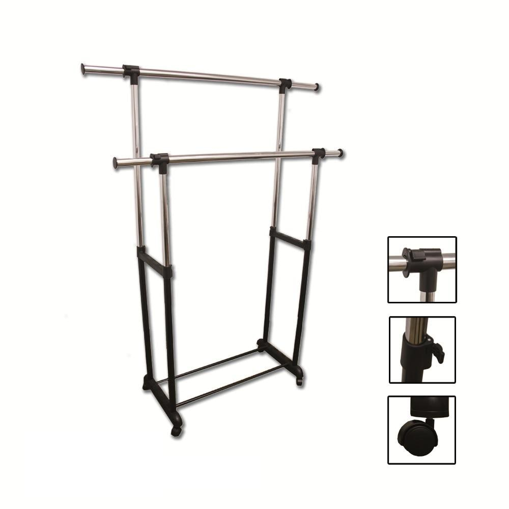 Double Levers Clothes Rack 13953316 Overstock Com