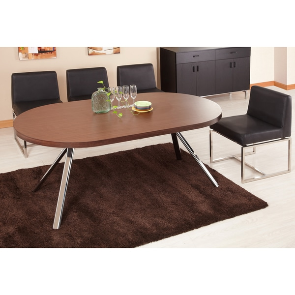 Deals On Dining Tables: Furniture Of America Trexton Walnut Finish Dining Table