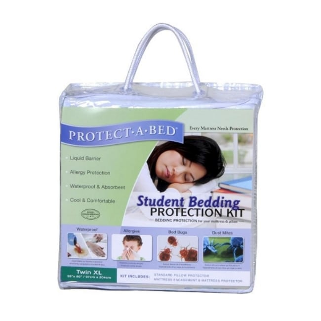 Protect A Bed Twin Xl Size Student Bedding Kit 13956606