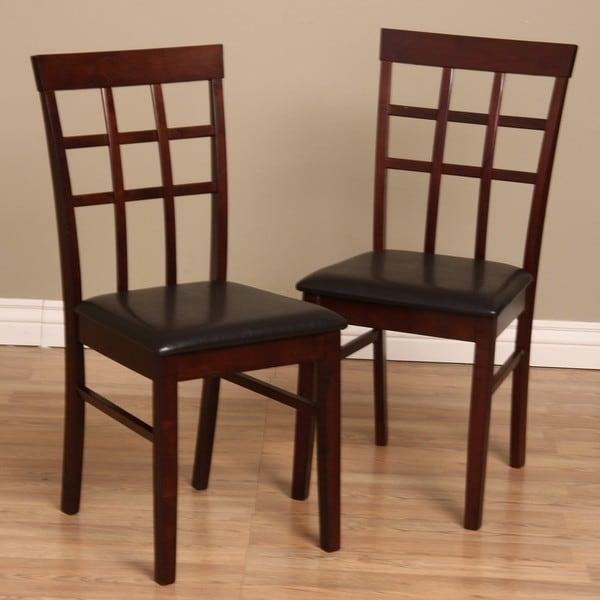 Warehouse Of Tiffany Justin Dining Chairs Set Of 4