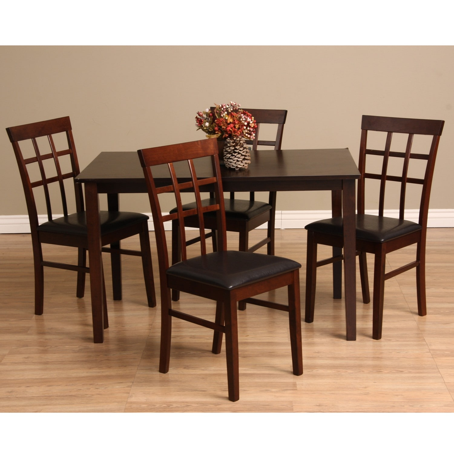 Discount Dining Room Sets Free Shipping: Warehouse Of Tiffany Justin 5-piece Dining Furniture Set