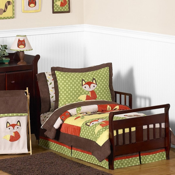 Toddler Bed Offers: Sweet JoJo Designs 'Forest Friends' 5-piece Toddler
