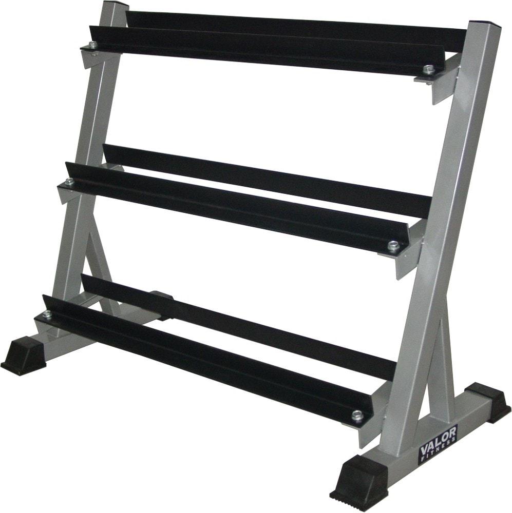 Valor Fitness 3 Tier Dumbbell Rack 13974720 Overstock