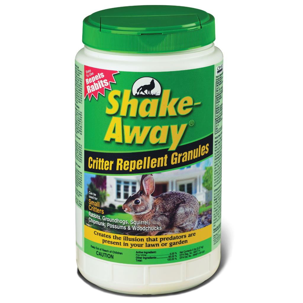 Shake Away Fox Urine Granules Rodent Repellant 5 Pounds