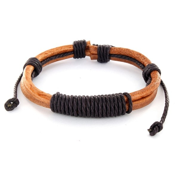 How To Learn How To Tie Knot In A Leather Bracelet 107