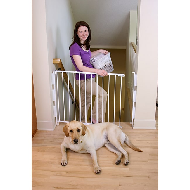Regalo 2 In 1 Top Of Stairs Safety Gate 13999112