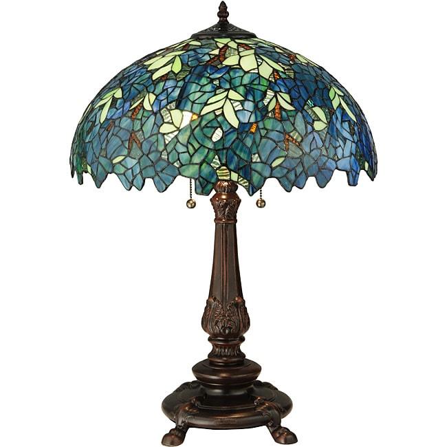Meyda Tiffany Nightfall Wisteria Table Lamp 14005454