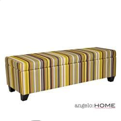 Angelo Home Kent Sunflower Yellow Stripe Wall Hugger Trunk