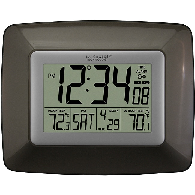 Atomic Digital Wall Clock 14018263 Overstock Com