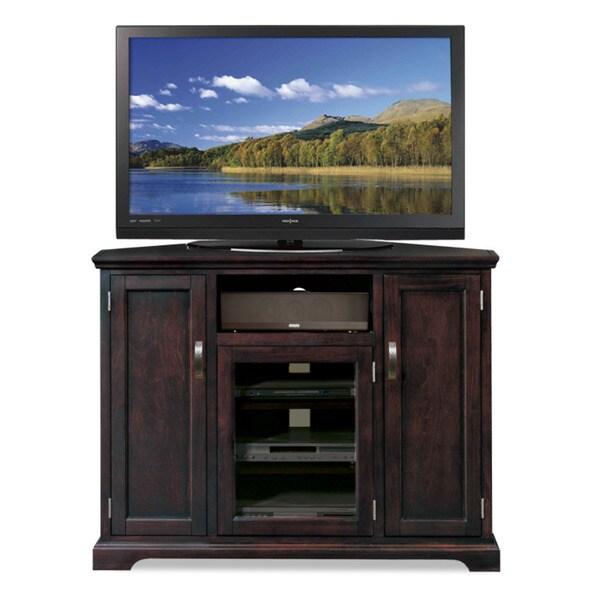Chocolate Bronze 46 Inch Corner Tv Stand Amp Media Console