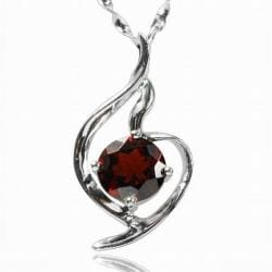 Shop de buman sterling silver garnet necklace on sale free de buman sterling silver garnet necklace aloadofball Images
