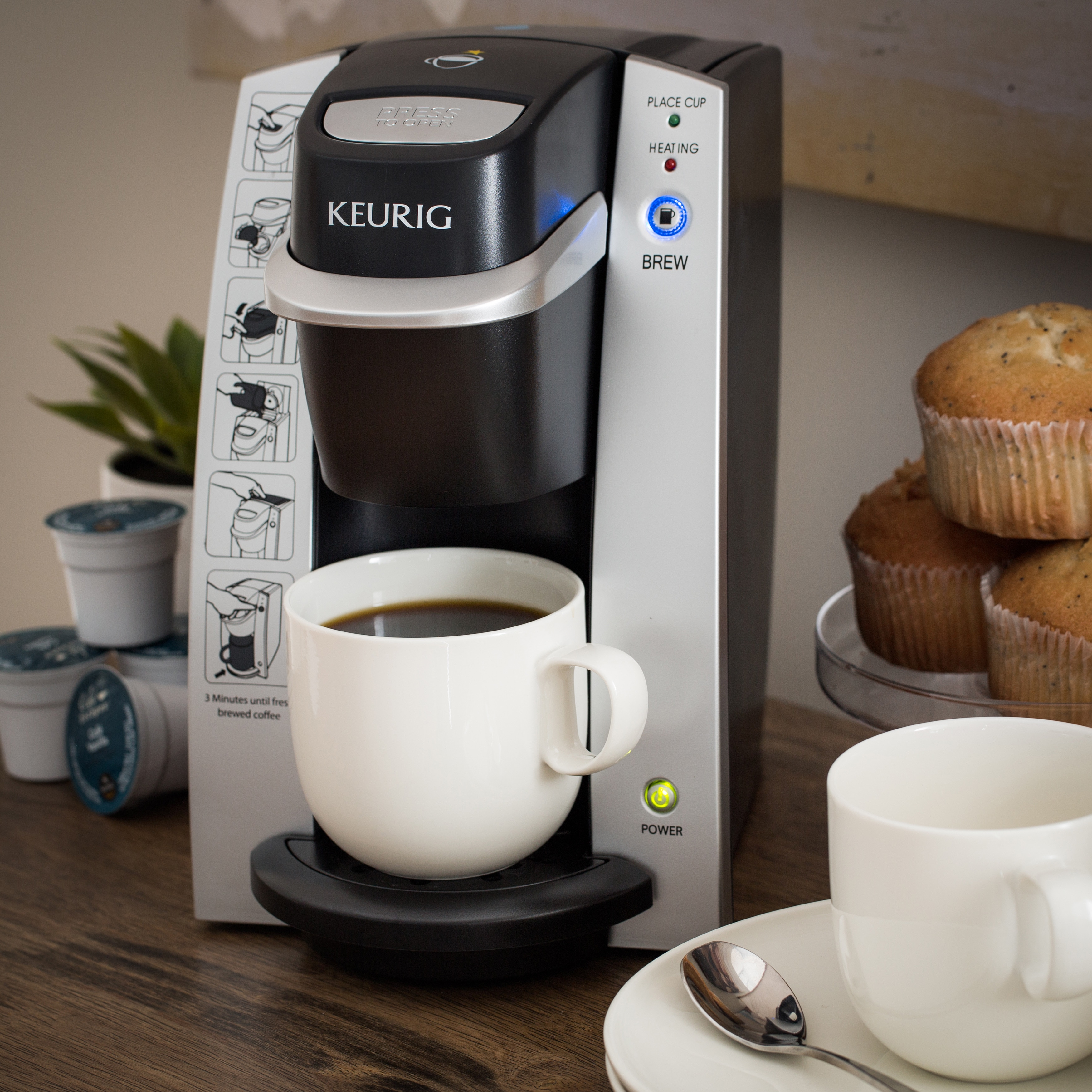 New Keurig Commercial Gourmet Instant Coffee Maker Single