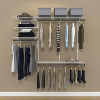 Organized Living Freedomrail Chrome Clothes Rod 30 Inches