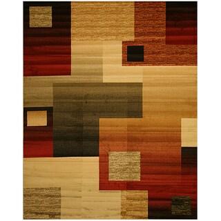 Mohawk Home Picasso Multi Contemporary Rug 8 X 10