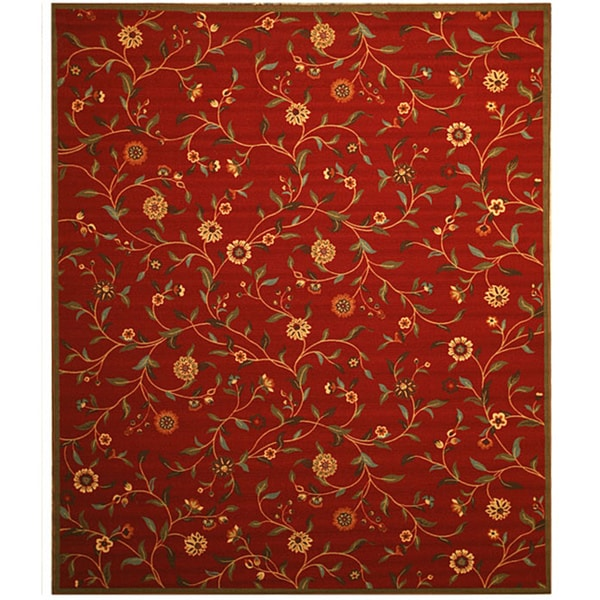 Eorc Red Euro Home Rug 7 10 X 9 10 14030670