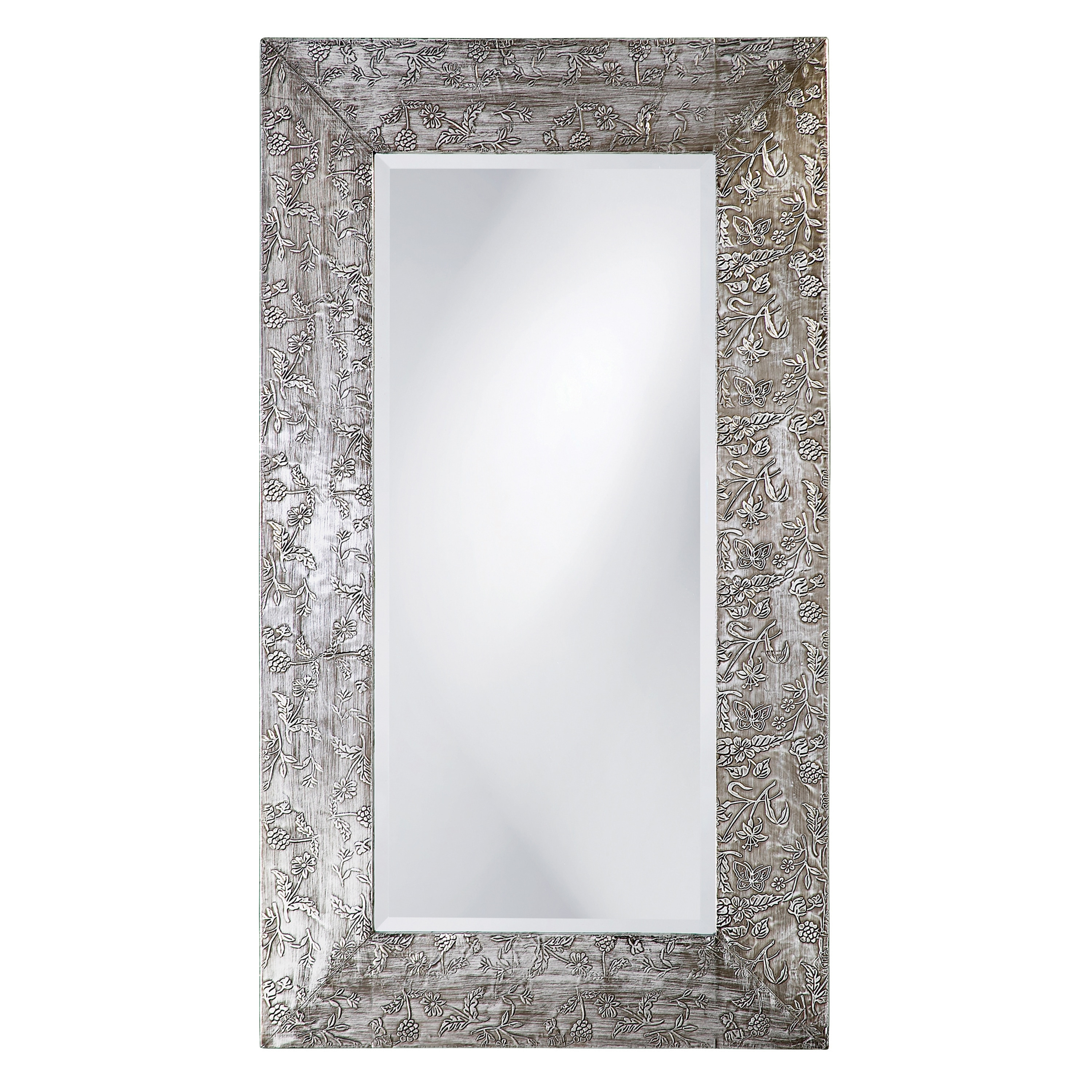 New Zealand Silver Wood Mirror 14040211 Overstock Com Shopping Great Deals On Mirrors