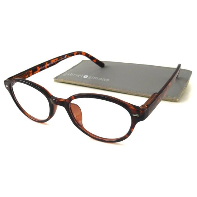 2dca23eec52 Gabriel+simone Womens Mademoiselle Round Reading Glasses on PopScreen