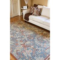 Hand Knotted Zillertal New Zealand Wool Area Rug - 6' x 9'