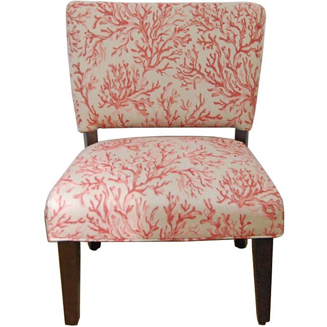 Floral Fabric Gigi Accent Chair
