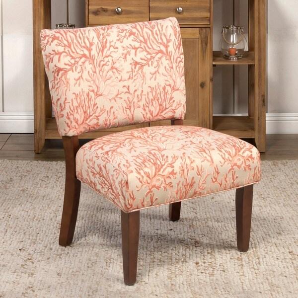 Homepop Floral Fabric Gigi Accent Chair