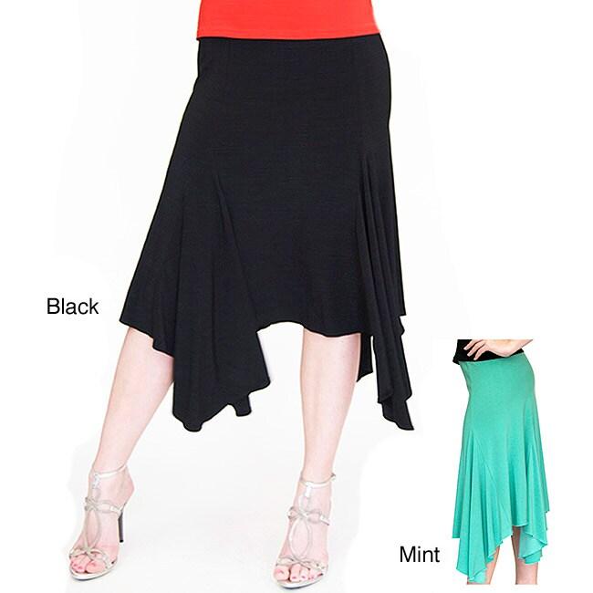 Shining Star Handkerchief Hem Skirt 14057360 Overstock