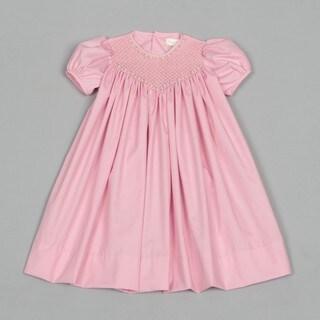 Petit Ami Toddler Girl S Smocked Dress Overstock