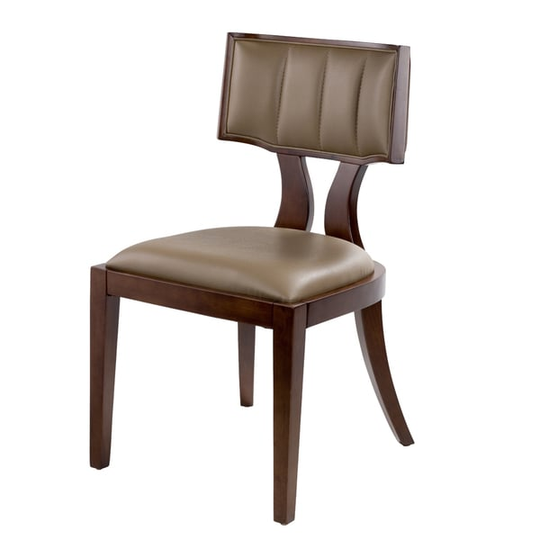 Dining Chairs Deals: Zeus Leather Dining Chairs (Set Of 2)