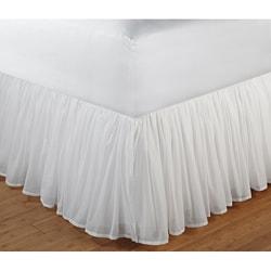 king bedskirts overstock shopping the best prices online. Black Bedroom Furniture Sets. Home Design Ideas