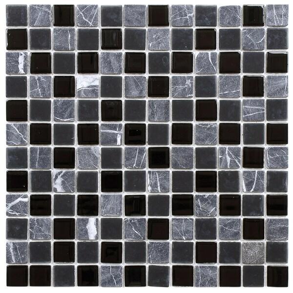 Somertile 11 5x11 5 Inch Chroma Square Ligoria Glass And