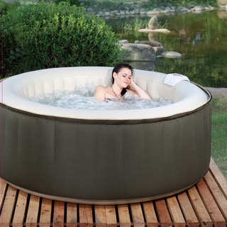 Theraspa 4 Person Inflatable Portable Hot Tub Spa