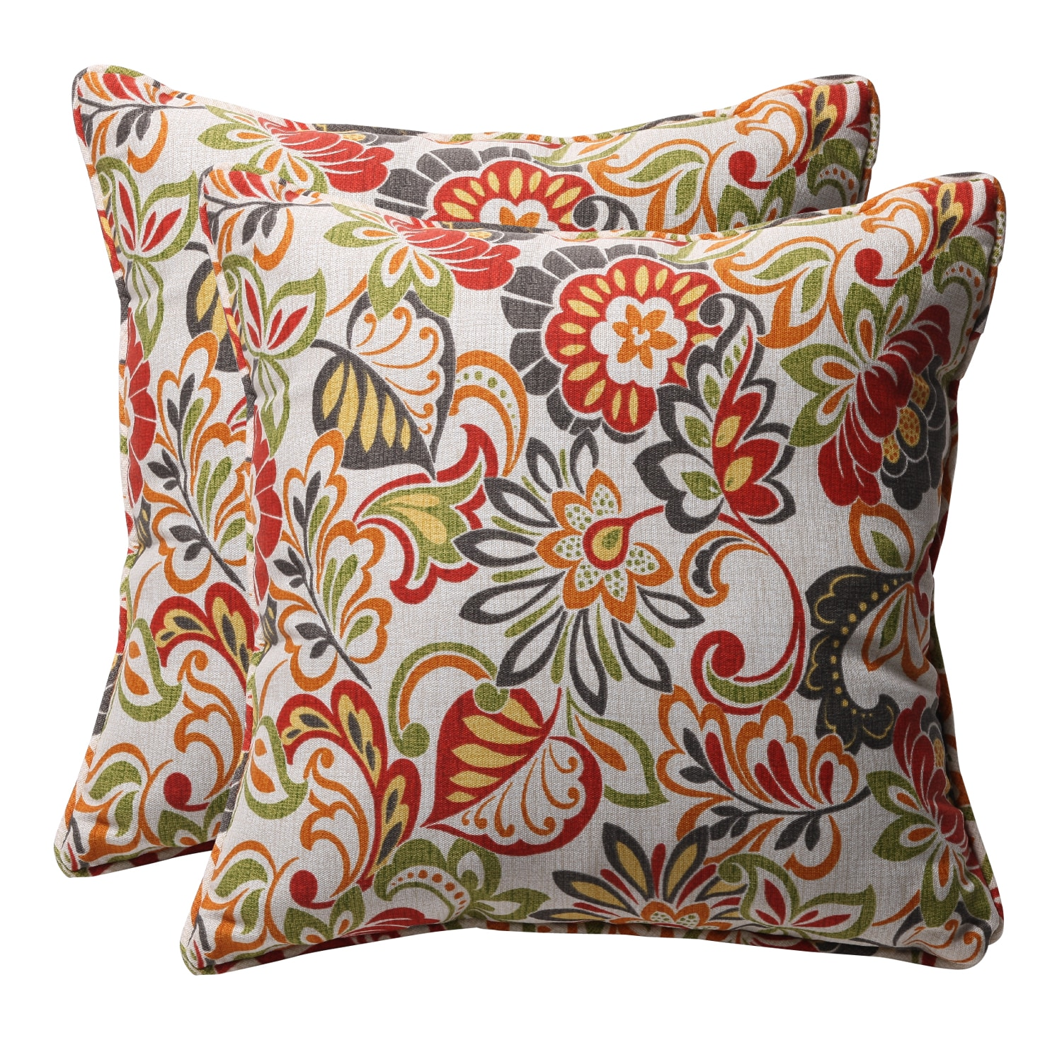 Patterned Outdoor Throw Pillows 6