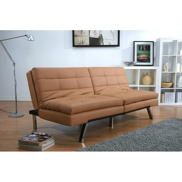 Sofa Bed Deals: Memphis Camel Double Cushion Futon Sofa Bed