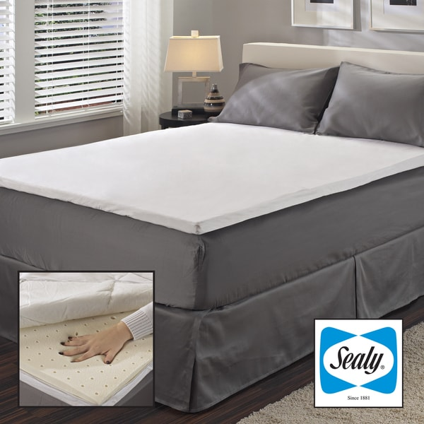 Sealy 2 Inch Queen King Cal King Size Latex Mattress