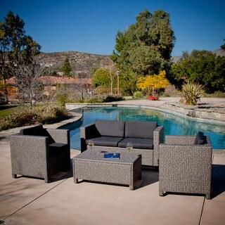 Great Prices Sirio Wicker Resin 8 Piece Outdoor Furniture Set