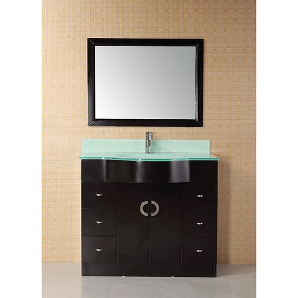 Design Element Aria 40-inch Modern Single Bathroom Vanity ...