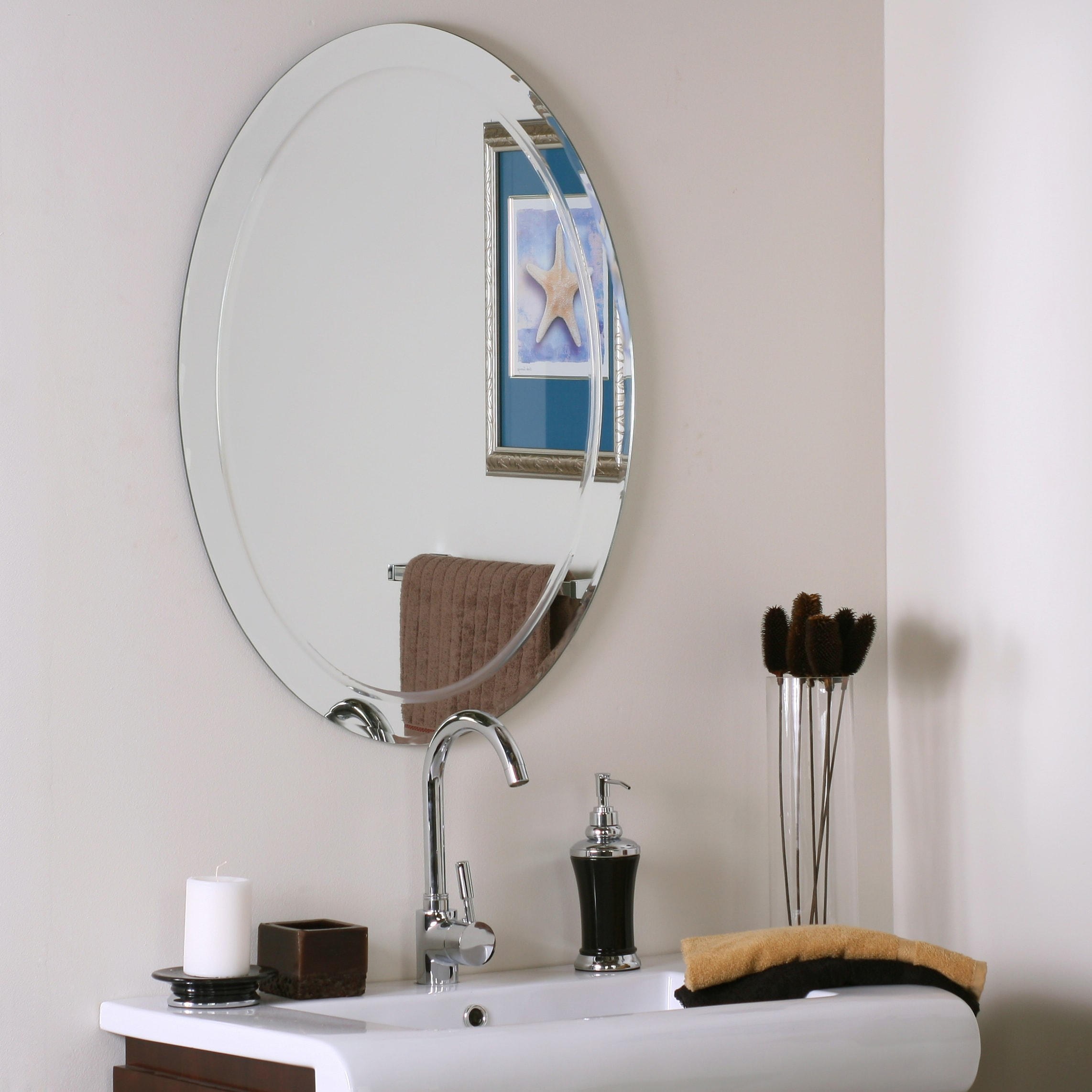 Modern Mirrors For Bathrooms: Alden Modern Bathroom Mirror