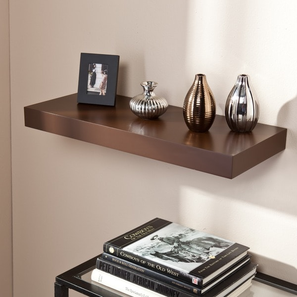 Accent Pieces For Home: Harper Blvd Tampa 24-inch Espresso Floating Shelf